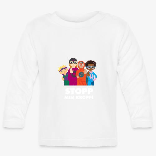 Stopp min kropp! - Långärmad T-shirt baby