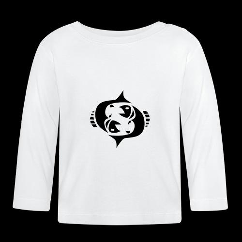 STERNZEICHEN FISCH - Baby Langarmshirt