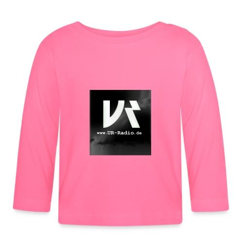 logo spreadshirt - Baby Langarmshirt