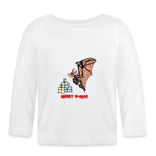 Merry X-MAS - Baby Langarmshirt