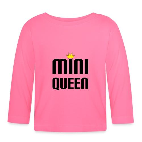 Queen Baby Geschenk - Baby Langarmshirt