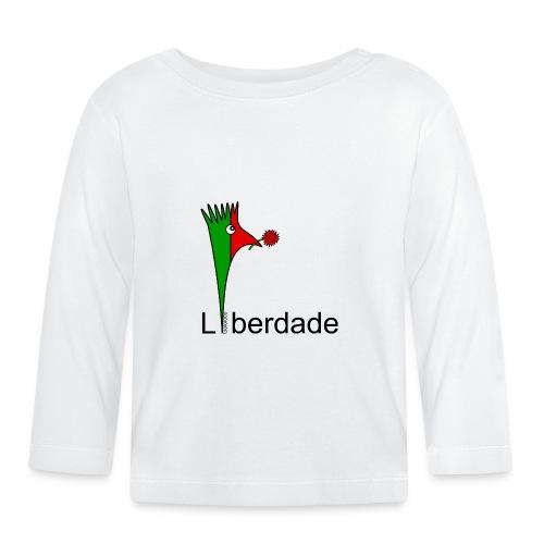 Galoloco - Liberdaded - 25 Abril - Baby Long Sleeve T-Shirt