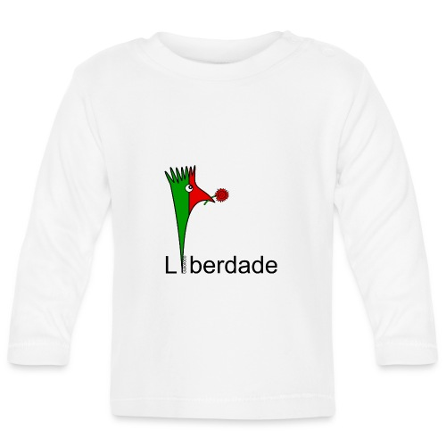 Galoloco - Liberdaded - 25 Abril - T-shirt manches longues Bébé