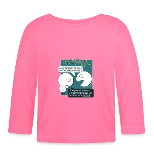Conseils & homéopathie - T-shirt manches longues Bébé