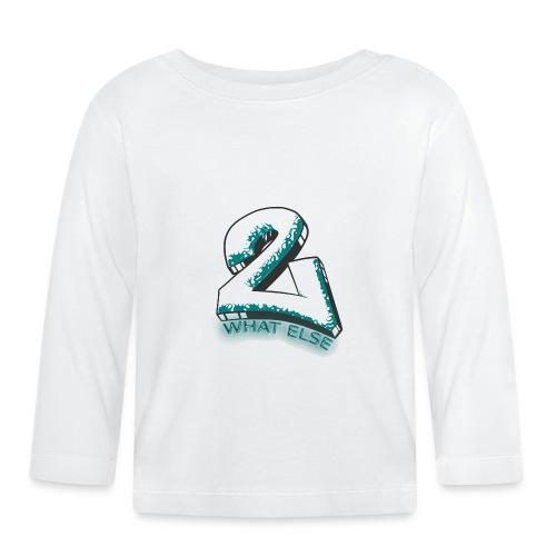 77 what else - Baby Langarmshirt