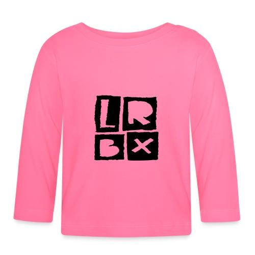 LRBX - La Roulette Bruxelles - Longboard - T-shirt manches longues Bébé