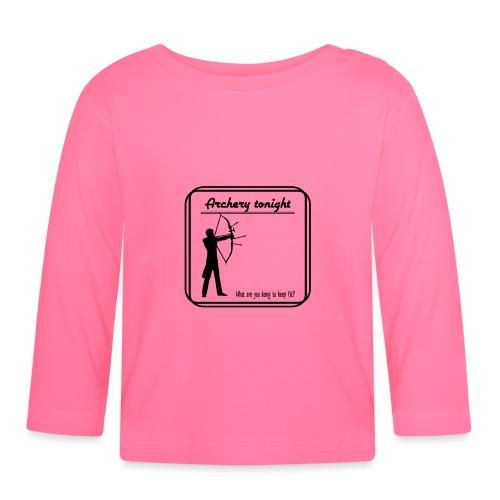 Archery tonight - Vauvan pitkähihainen paita