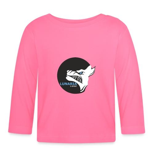 Lunaria_Logo tete pleine - T-shirt manches longues Bébé