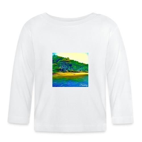 Tropical beach - Maglietta a manica lunga per bambini