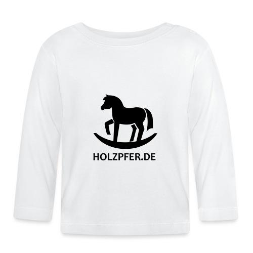 Holzpferde - Baby Langarmshirt