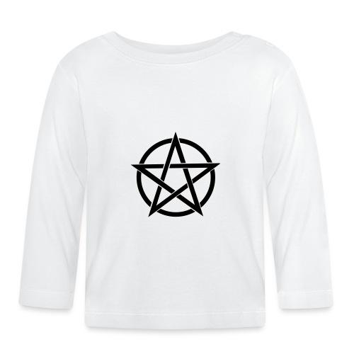 Pentagramme Wicca - T-shirt manches longues Bébé