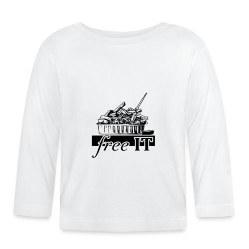 free it - T-shirt manches longues Bébé