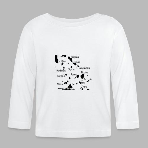 Kykladen Griechenland Crewshirt - Baby Langarmshirt