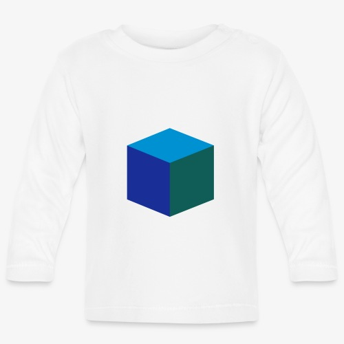 Cube - Langarmet baby-T-skjorte