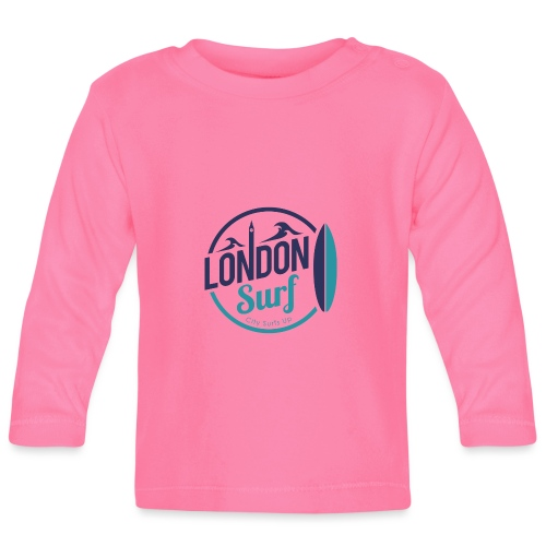 London Surf Classic Logo - Baby Long Sleeve T-Shirt