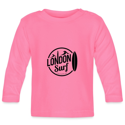 London Surf - Black - Baby Long Sleeve T-Shirt