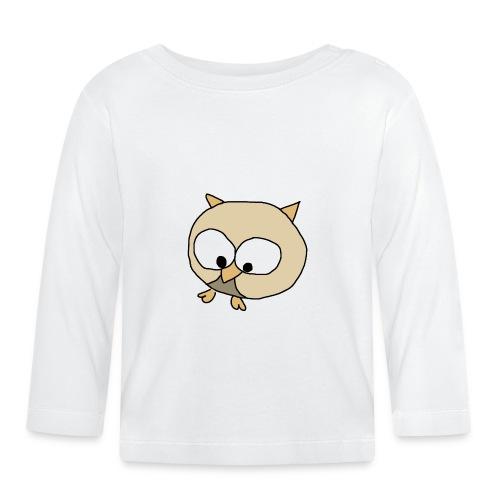 Uggla - Långärmad T-shirt baby