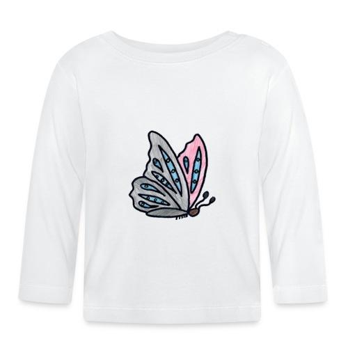 Fjäril - Långärmad T-shirt baby