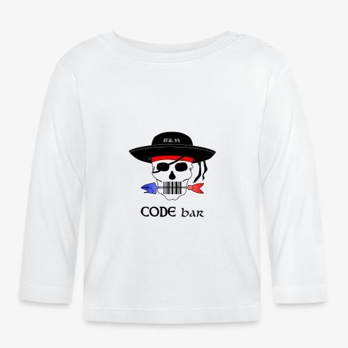 Code Bar couleur - T-shirt manches longues Bébé