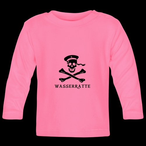 ~ Wasserratte ~ - Baby Langarmshirt