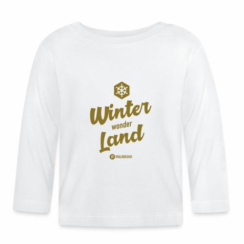 Winter Wonder Land - Vauvan pitkähihainen paita