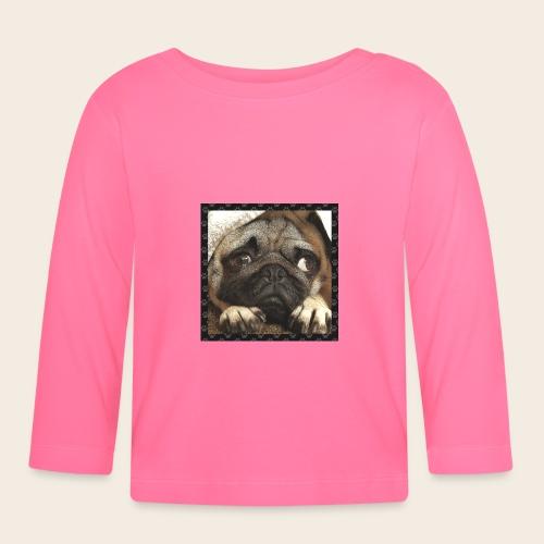 Mops Hund 1 - Baby Langarmshirt