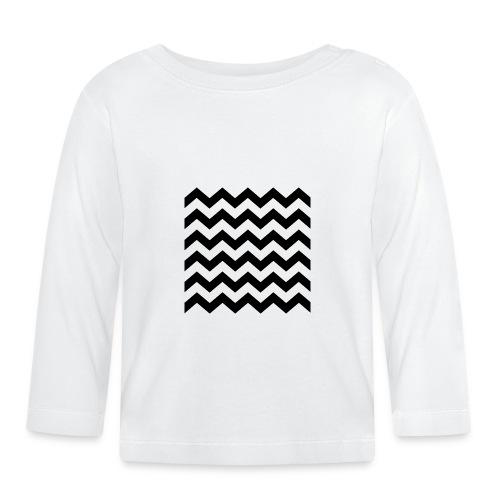 zigzag png - T-shirt manches longues Bébé
