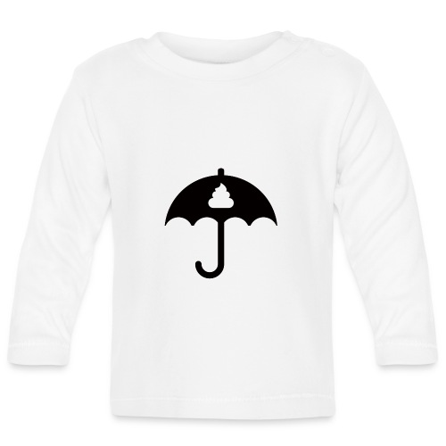 Shit icon Black png - Baby Long Sleeve T-Shirt