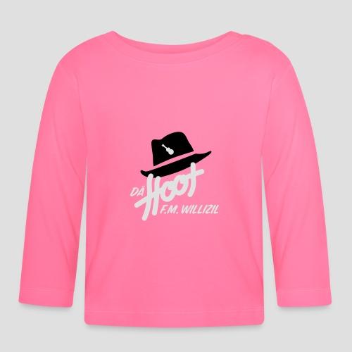 daeHoot_Shirt_Logo1_2c - Baby Langarmshirt
