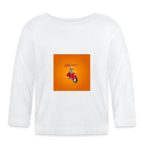 Schwalbe Comic Logo - Baby Langarmshirt