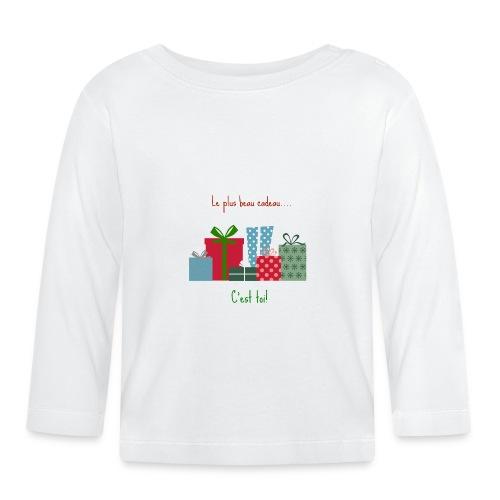 Le plus beau cadeau - T-shirt manches longues Bébé