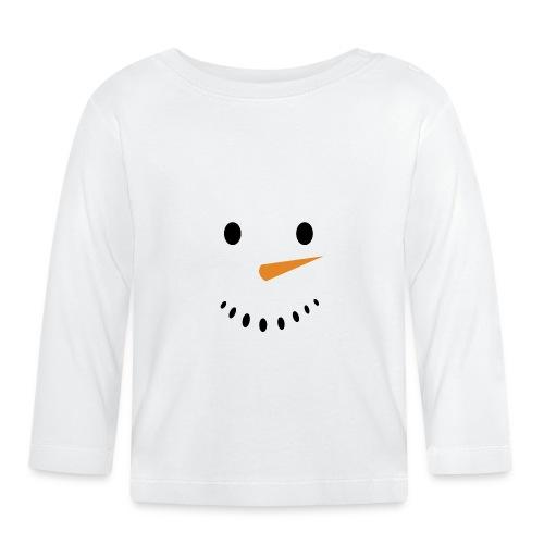 Bonhomme de neige Noël Hiver - T-shirt manches longues Bébé