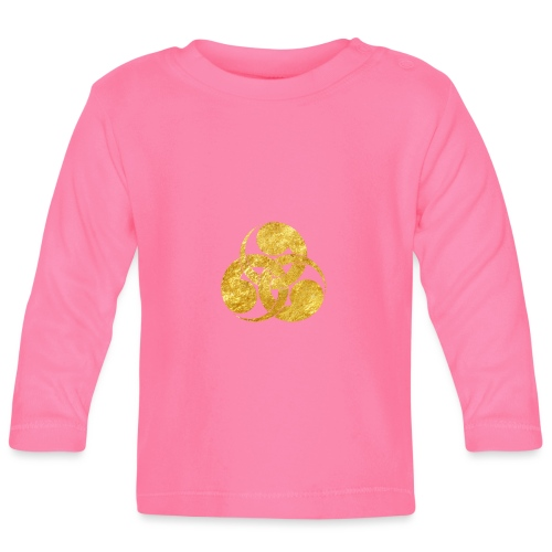 Tadpole Mon Japanese samurai clan - Baby Long Sleeve T-Shirt