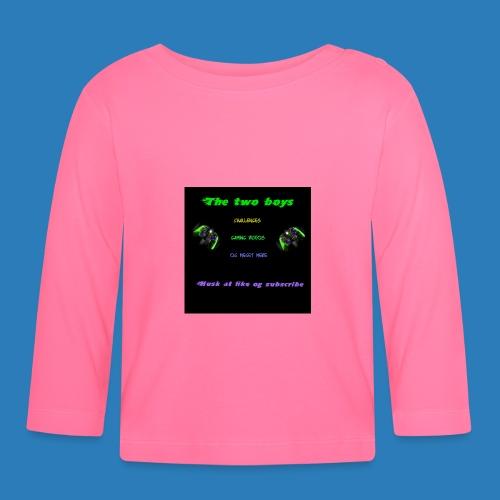 LUISJAKUBINTRO-jpg - Langærmet babyshirt