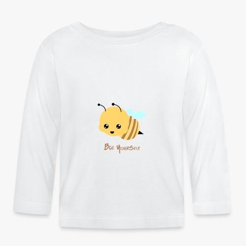 Bee Yourself - Langærmet babyshirt