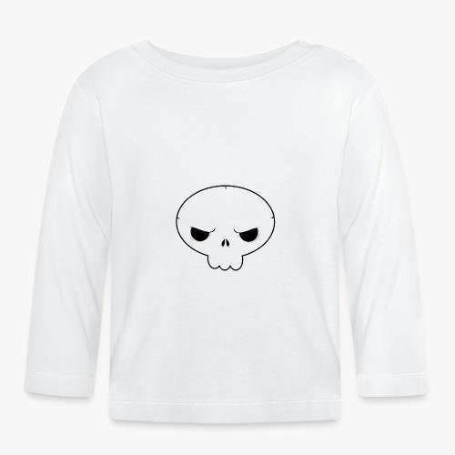 Skullie - Langærmet babyshirt