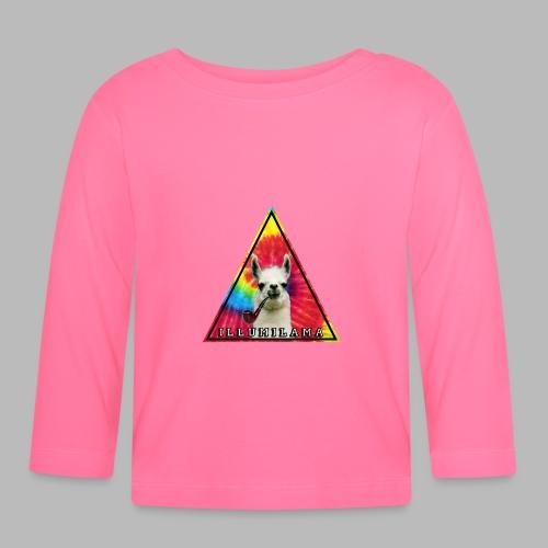 Illumilama logo T-shirt - Baby Long Sleeve T-Shirt