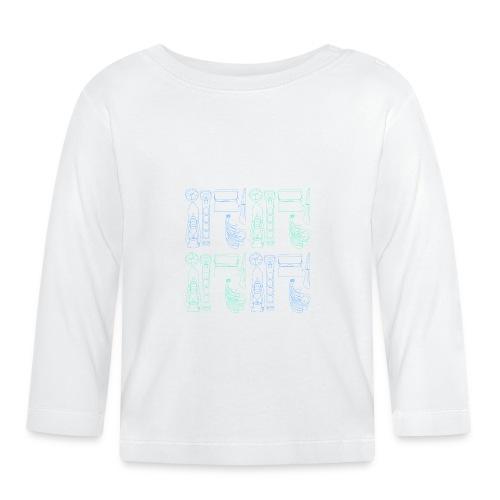 EkoNelijuuri - Vauvan pitkähihainen paita