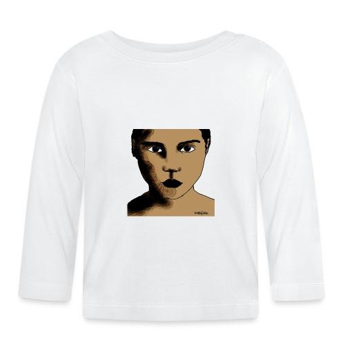 volto0001-jpg - Maglietta a manica lunga per bambini