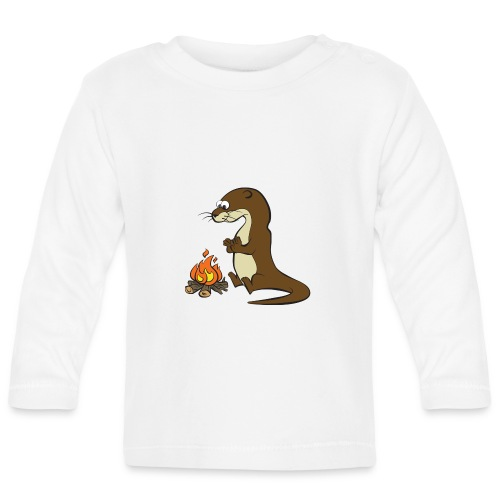Song of the Paddle; Quentin campfire - Baby Long Sleeve T-Shirt
