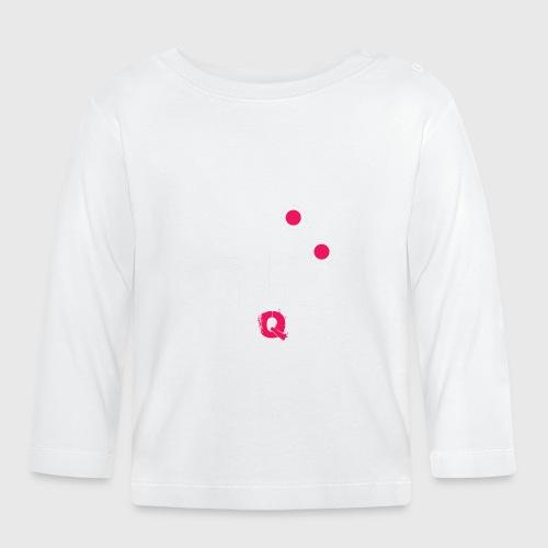 T-shirt FUQU logo colore bianco - Maglietta a manica lunga per bambini
