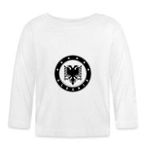 Patrioti Albania Black - Baby Langarmshirt