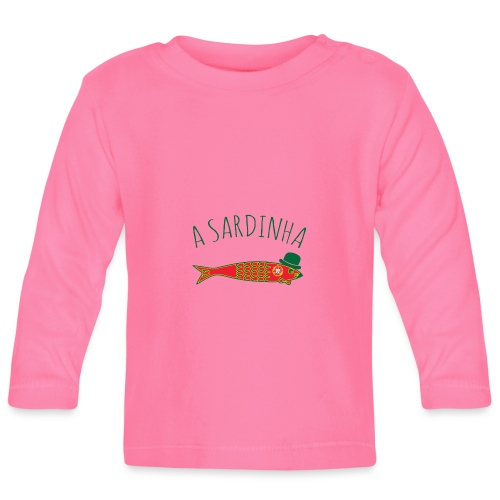 A Sardinha - Bandeira - T-shirt manches longues Bébé