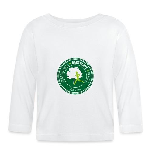 EARTHLETE Brand Logo - Langærmet babyshirt