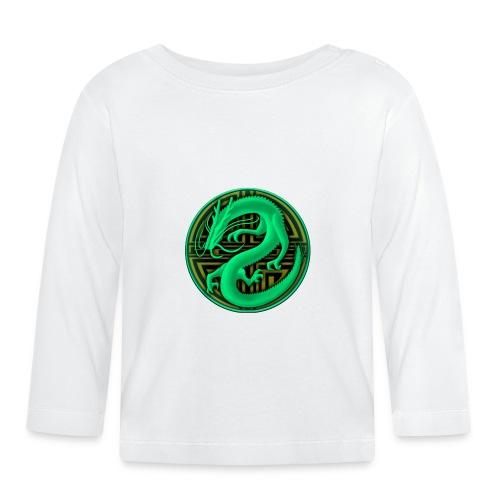 logo mic03 the gamer - Maglietta a manica lunga per bambini
