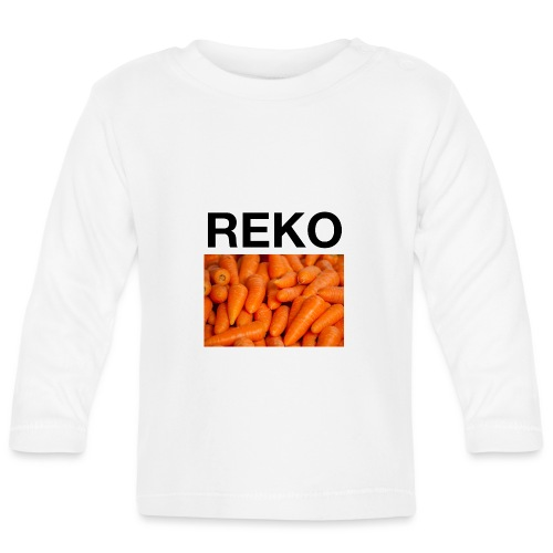 REKOpaita porkkanat - Vauvan pitkähihainen paita