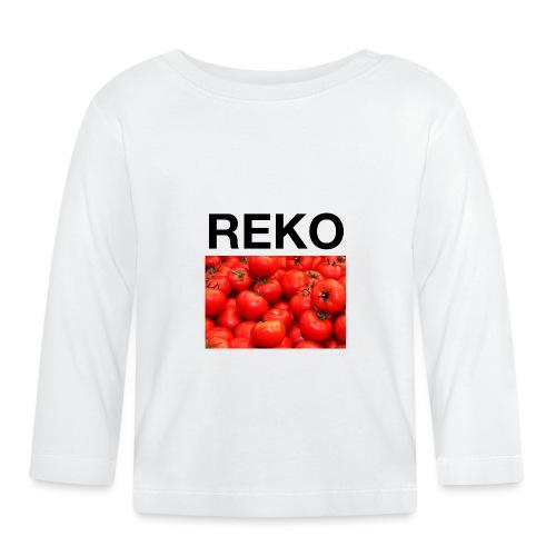 REKOpaita tomaatti - Vauvan pitkähihainen paita