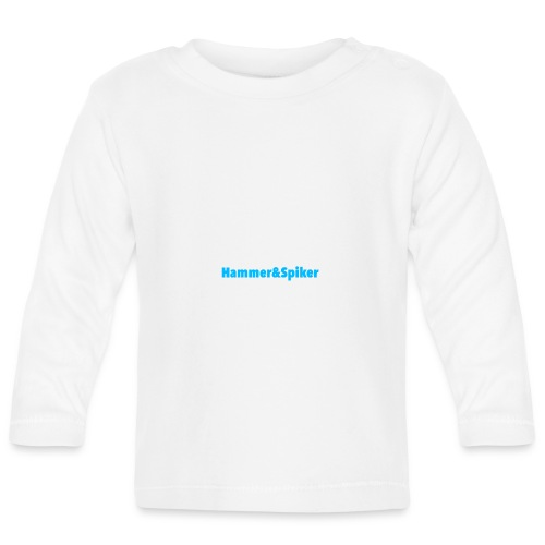 hammer og spiker baby collection - Langarmet baby-T-skjorte