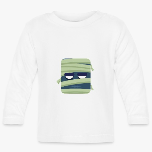 Mini Monsters - Mummy - Langærmet babyshirt