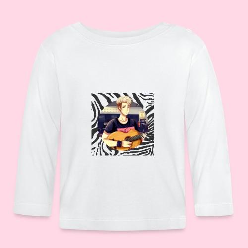 Josh Badge Zebre - T-shirt manches longues Bébé